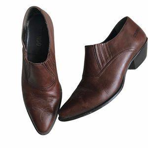 Durango Ankle Cowboy Boot Shooties 8.5 whiskey